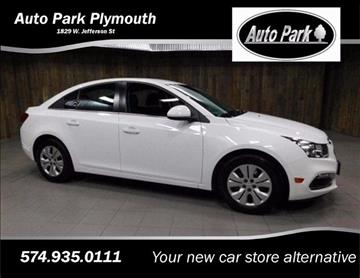 2016 Chevrolet Cruze Limited for sale in Plymouth, IN