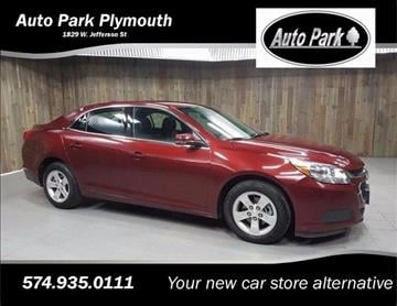 2016 Chevrolet Malibu Limited for sale in Plymouth, IN