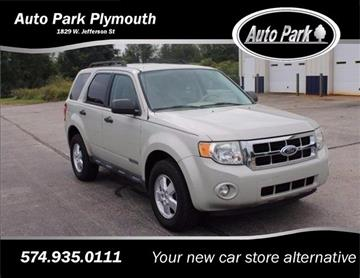 2008 Ford Escape for sale in Plymouth, IN