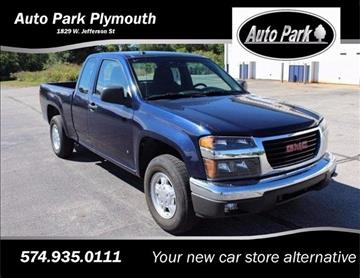 2008 GMC Canyon for sale in Plymouth, IN