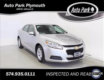 2015 Chevrolet Malibu for sale in Plymouth, IN