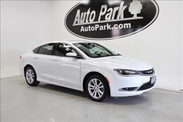 2016 Chrysler 200 for sale in Plymouth, IN