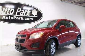 2015 Chevrolet Trax for sale in Plymouth, IN