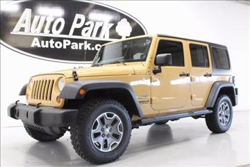 2013 Jeep Wrangler Unlimited for sale in Plymouth, IN