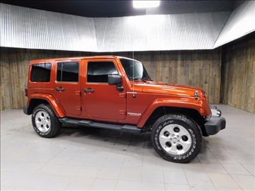 2014 Jeep Wrangler Unlimited for sale in Plymouth, IN