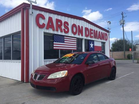 Cars On Demand >> Pontiac For Sale In Pasadena Tx Cars On Demand