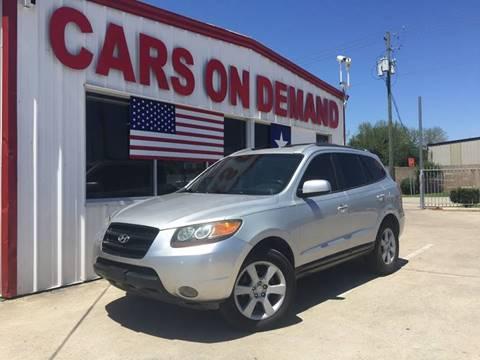 2007 Hyundai Santa Fe for sale in Pasadena, TX