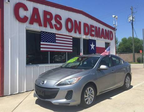 Cars On Demand >> Mazda For Sale In Pasadena Tx Cars On Demand