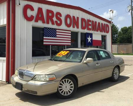 2005 Lincoln Town Car For Sale In Memphis Tn Carsforsale Com