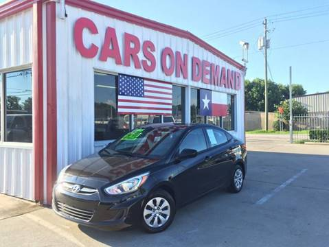 2015 Hyundai Accent for sale in Pasadena, TX