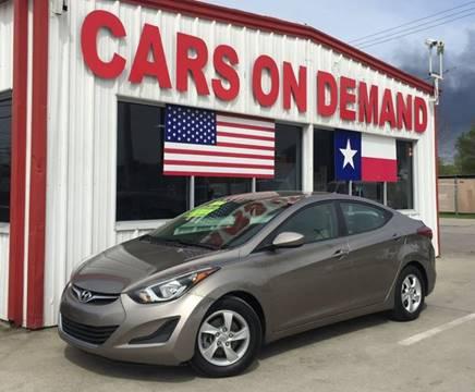2014 Hyundai Elantra for sale in Pasadena, TX