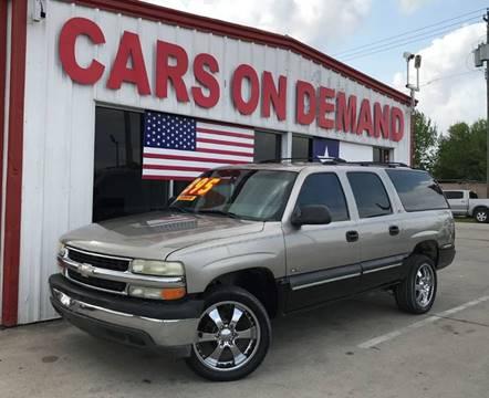 2000 chevy suburban lt 4x4