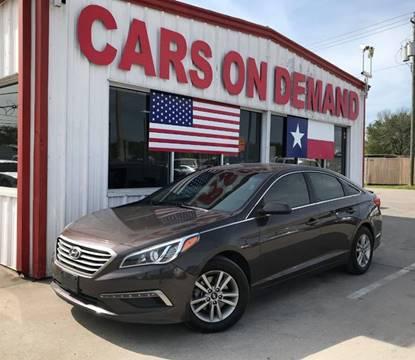 2015 Hyundai Sonata for sale in Pasadena, TX