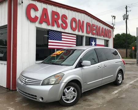 2009 Nissan Quest for sale in Pasadena, TX