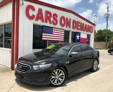 2013 Ford Taurus For Sale >> Ford Taurus For Sale In Pasadena Tx Cars On Demand