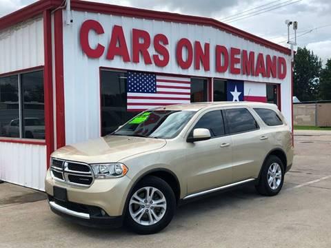 2011 Dodge Durango for sale in Pasadena, TX