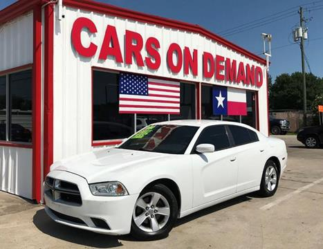 2012 Dodge Charger for sale in Pasadena, TX