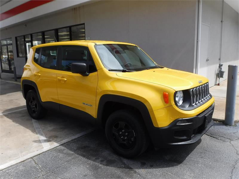 2016 jeep renegade 4x4 sport 4dr suv in asheville nc sam daves auto sales. Black Bedroom Furniture Sets. Home Design Ideas