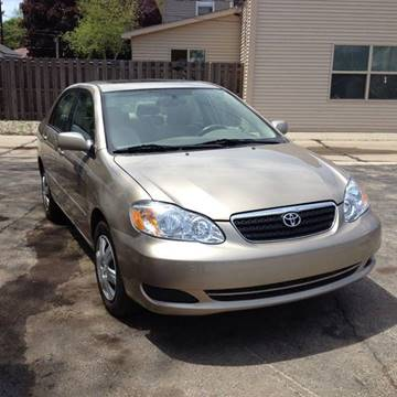 2006 Toyota Corolla for sale at MOE MOTORS LLC in South Milwaukee WI