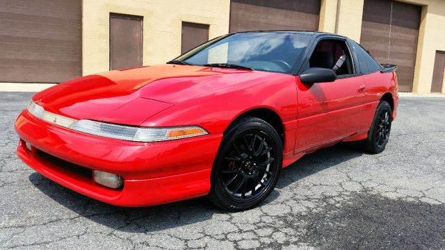 1990 mitsubishi eclipse gsx turbo awd stock in aston pa - elite autos