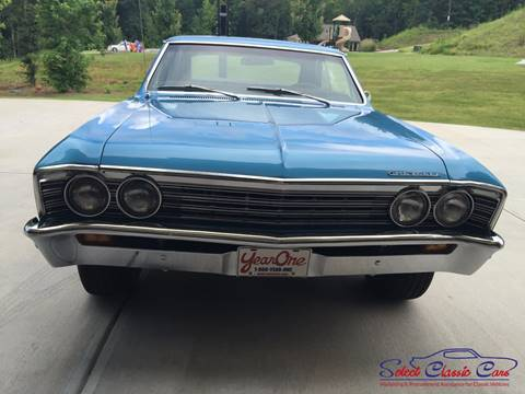 1967 Chevrolet Chevelle for sale at SelectClassicCars.com in Hiram GA