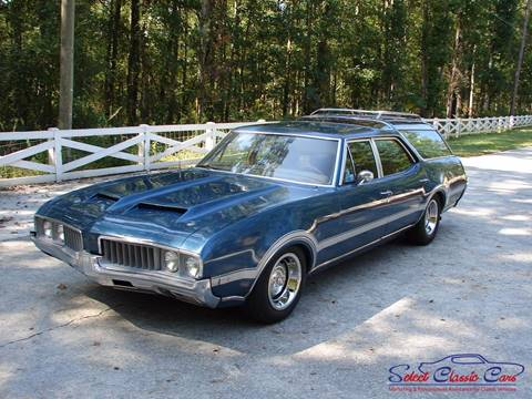 1969 Oldsmobile Cutlass Cruiser for sale at SelectClassicCars.com in Hiram GA