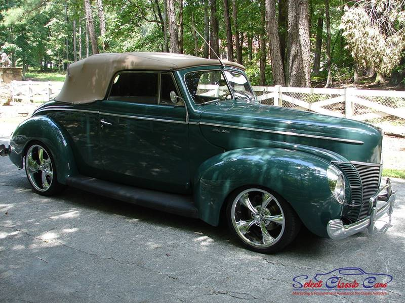 1940 Ford Coupe for sale at SelectClassicCars.com in Hiram GA