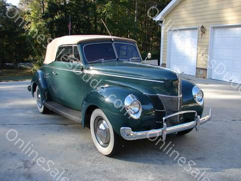 1940 Ford Coupe Convertible for sale in Hiram, GA