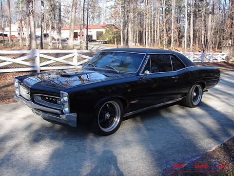 1966 Pontiac GTO For Sale  Carsforsalecom