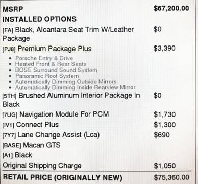 2017 Porsche Macan for sale in Burlingame, CA