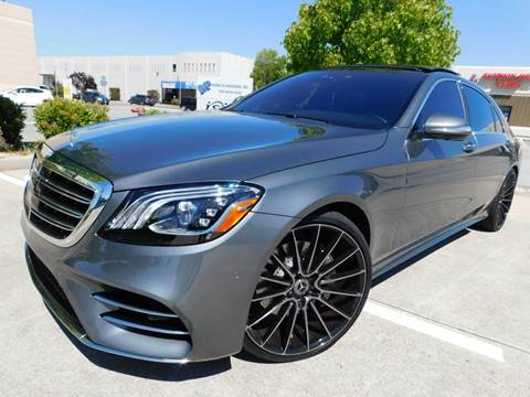 Mercedes For Sale >> 2018 Mercedes Benz S Class For Sale In Burlingame Ca