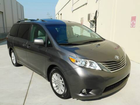 2017 Toyota Sienna for sale at Conti Auto Sales Inc in Burlingame CA