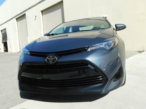 2017 Toyota Corolla for sale at Conti Auto Sales Inc in Burlingame CA