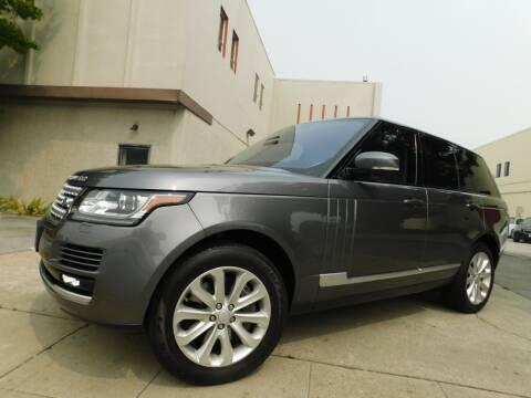 2016 Land Rover Range Rover for sale at Conti Auto Sales Inc in Burlingame CA
