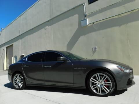 2016 Maserati Ghibli for sale at Conti Auto Sales Inc in Burlingame CA