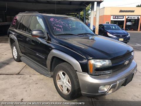 2002 Chevrolet TrailBlazer for sale in Orange, NJ