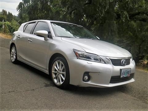 2011 Lexus CT 200h For Sale In Portland, OR