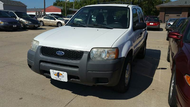 2003 Ford Escape XLS Popular 4WD 4dr SUV - Lincoln NE