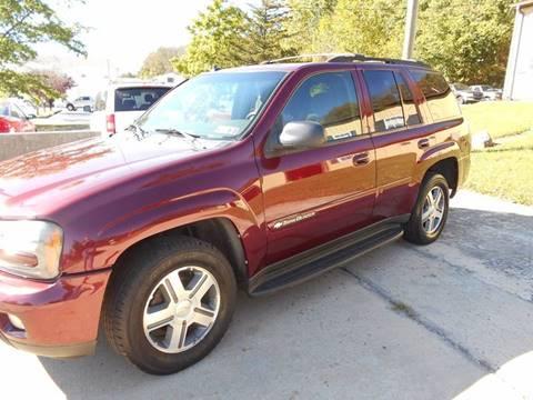 2004 Chevrolet TrailBlazer for sale in Douglassville PA