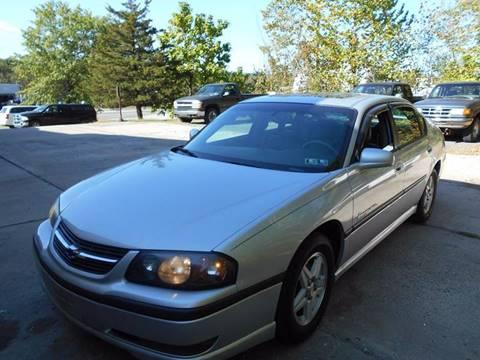 2003 Chevrolet Impala for sale in Douglassville, PA