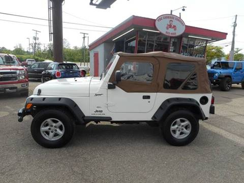 2005 Jeep Wrangler for sale in Lancaster, OH