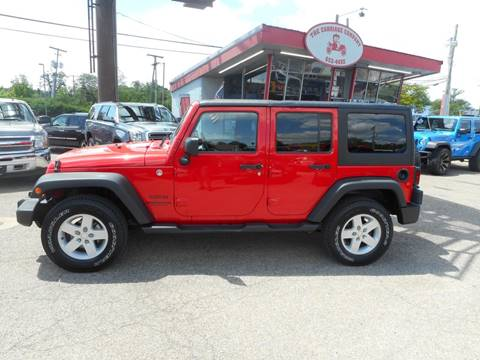 2015 Jeep Wrangler Unlimited for sale in Lancaster, OH