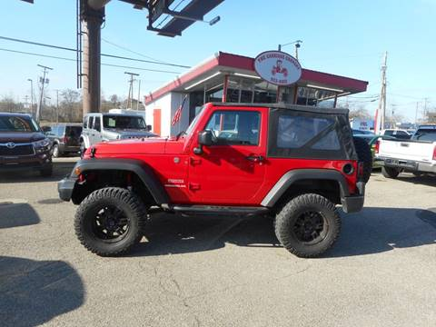 2012 Jeep Wrangler for sale in Lancaster, OH