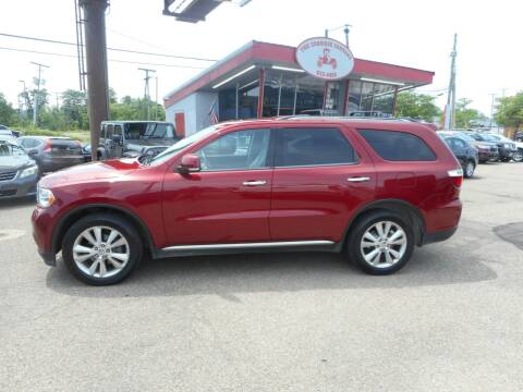 2013 Dodge Durango for sale at The Carriage Company in Lancaster OH