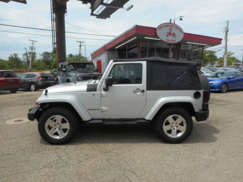 2009 Jeep Wrangler for sale at The Carriage Company in Lancaster OH
