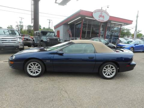 2002 Chevrolet Camaro for sale at The Carriage Company in Lancaster OH