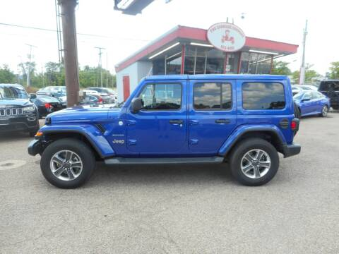 2020 Jeep Wrangler Unlimited for sale at The Carriage Company in Lancaster OH
