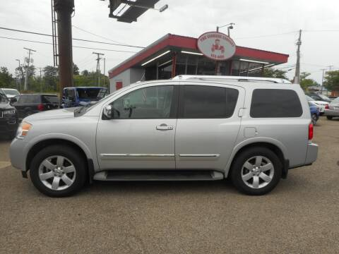2011 Nissan Armada for sale at The Carriage Company in Lancaster OH