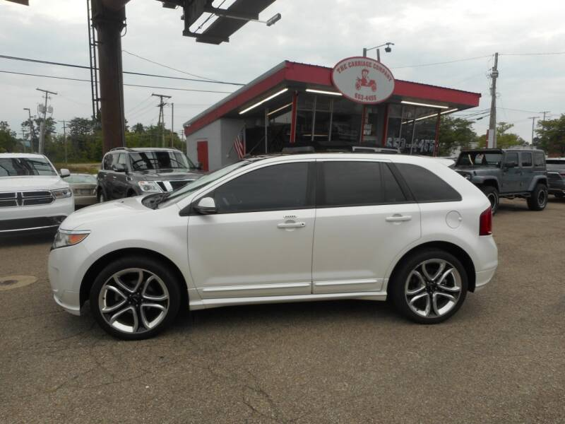 2012 Ford Edge for sale at The Carriage Company in Lancaster OH