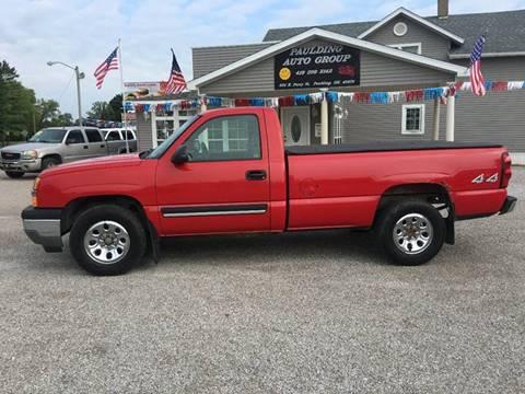 2005 Chevrolet Silverado 1500 for sale in Paulding, OH